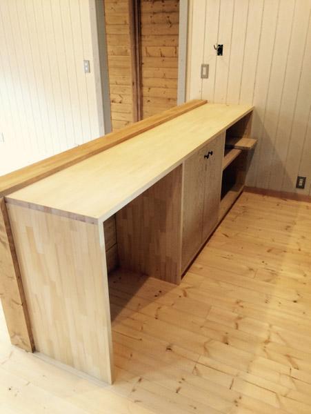 某住宅 造作家具 3