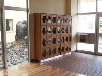 M小学校 来賓用下足箱