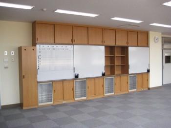 M小学校 ホワイトボード